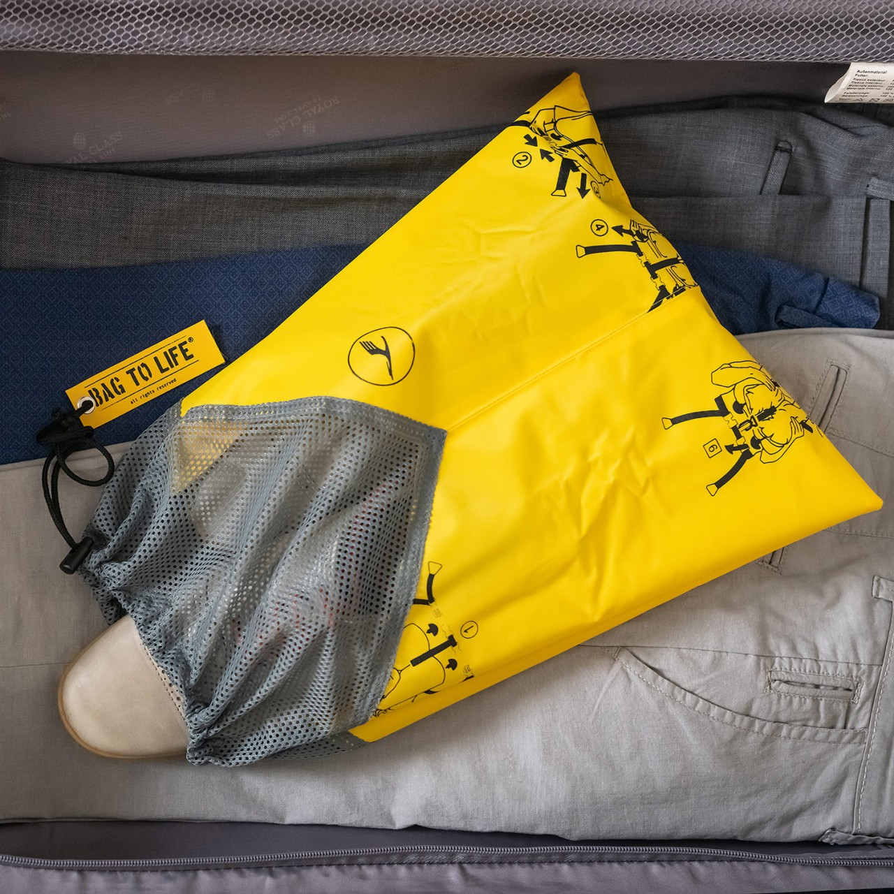 Bag To Life Easy Packing Set Lufthansa Edition