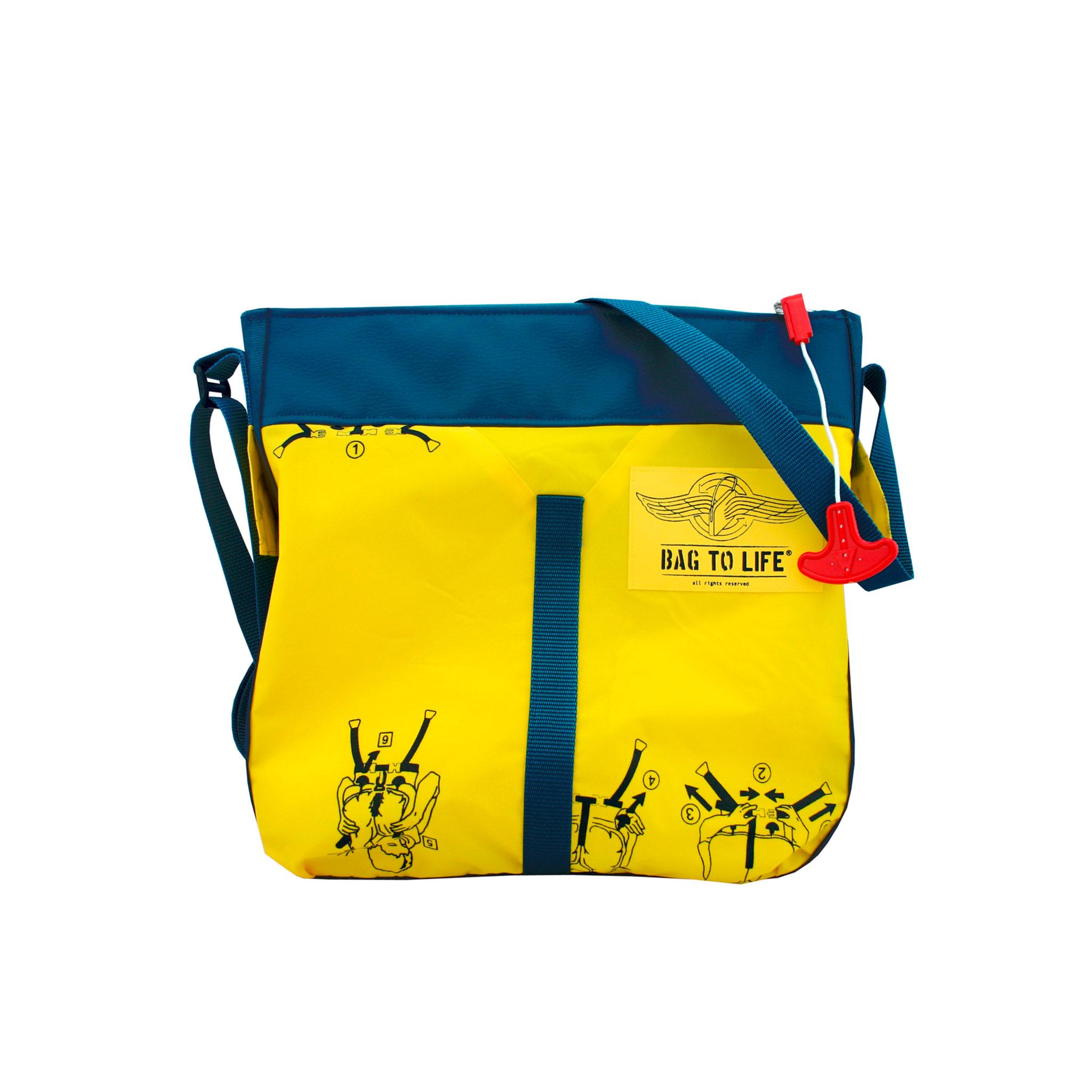 bag to life accessoires taschen aus flugzeug