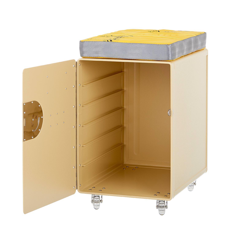 Bord Box L Hocker Beige
