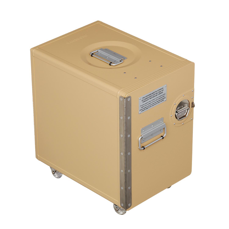 bord box l beige mit rollen bord boxen vandebord. Black Bedroom Furniture Sets. Home Design Ideas
