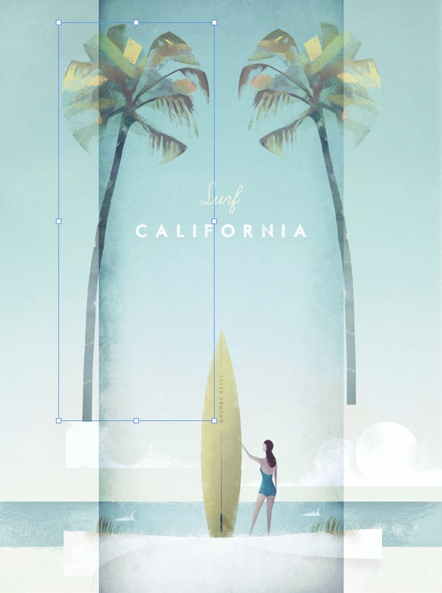 Layout Henry Rivers Edition Surf California