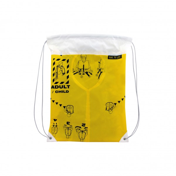 Bag To Life Sportbeutel Sky Gym Weiss