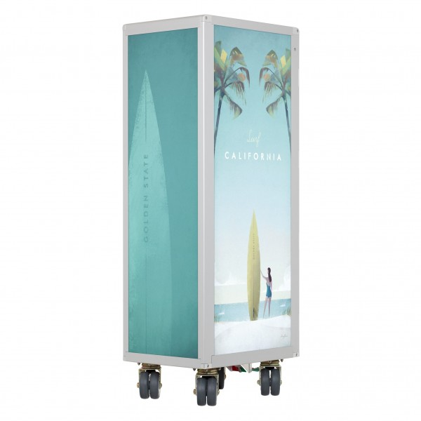 Airline Trolley Henry Rivers Edition Neu Surf California