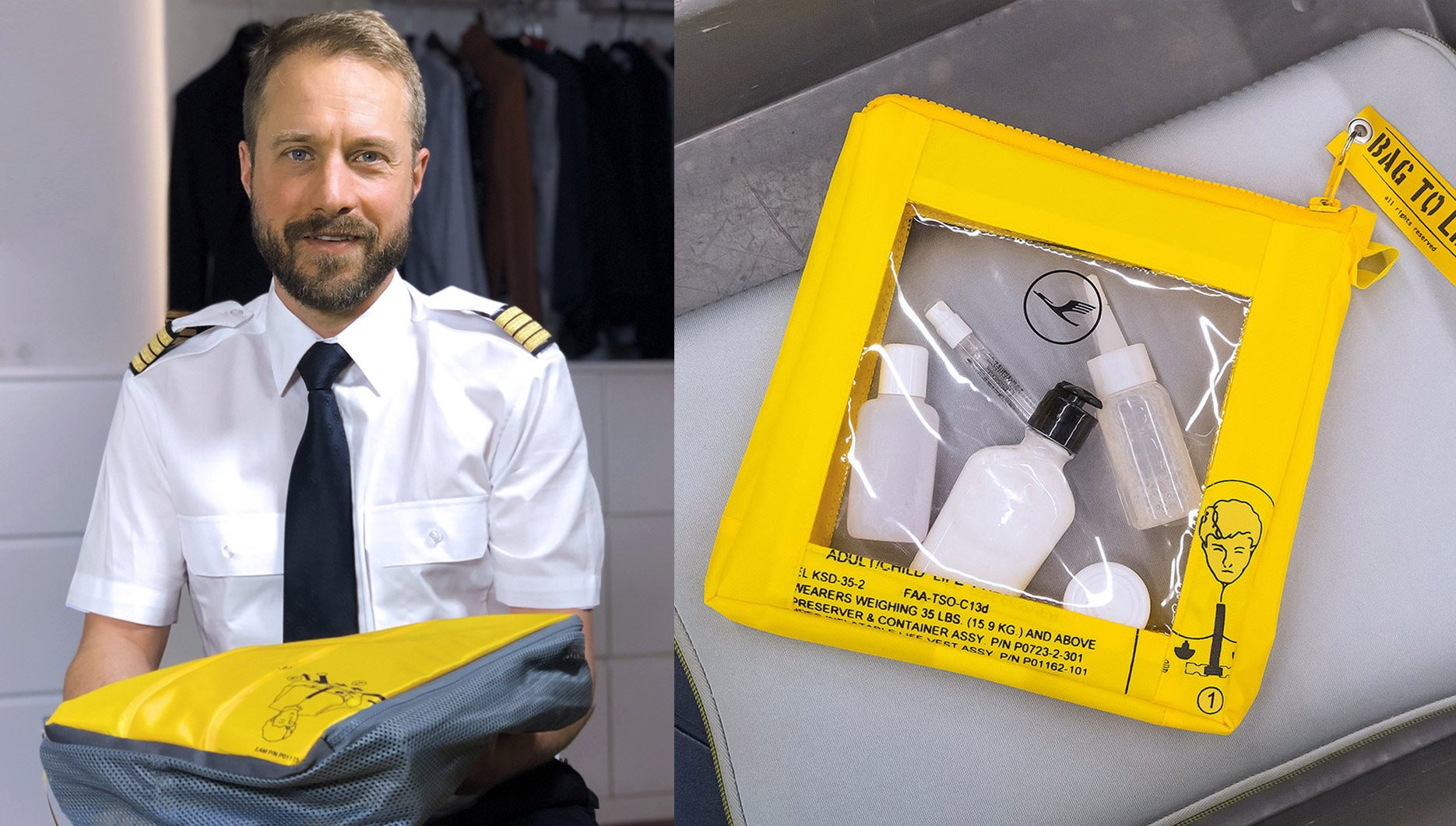 Packen wie Piloten: Bag To Life Lufthansa Edition